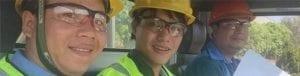 Nụ cười nhân viên Phú Yên Xanh