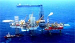 Giàn khoan dầu khí – Vũng Tàu