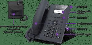 Điện thoại bàn IP Alcatel H2 DeskPhones