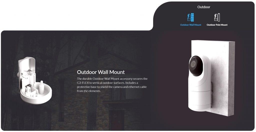 G3 Flex Outdoor - lắp đặt ngoài trời