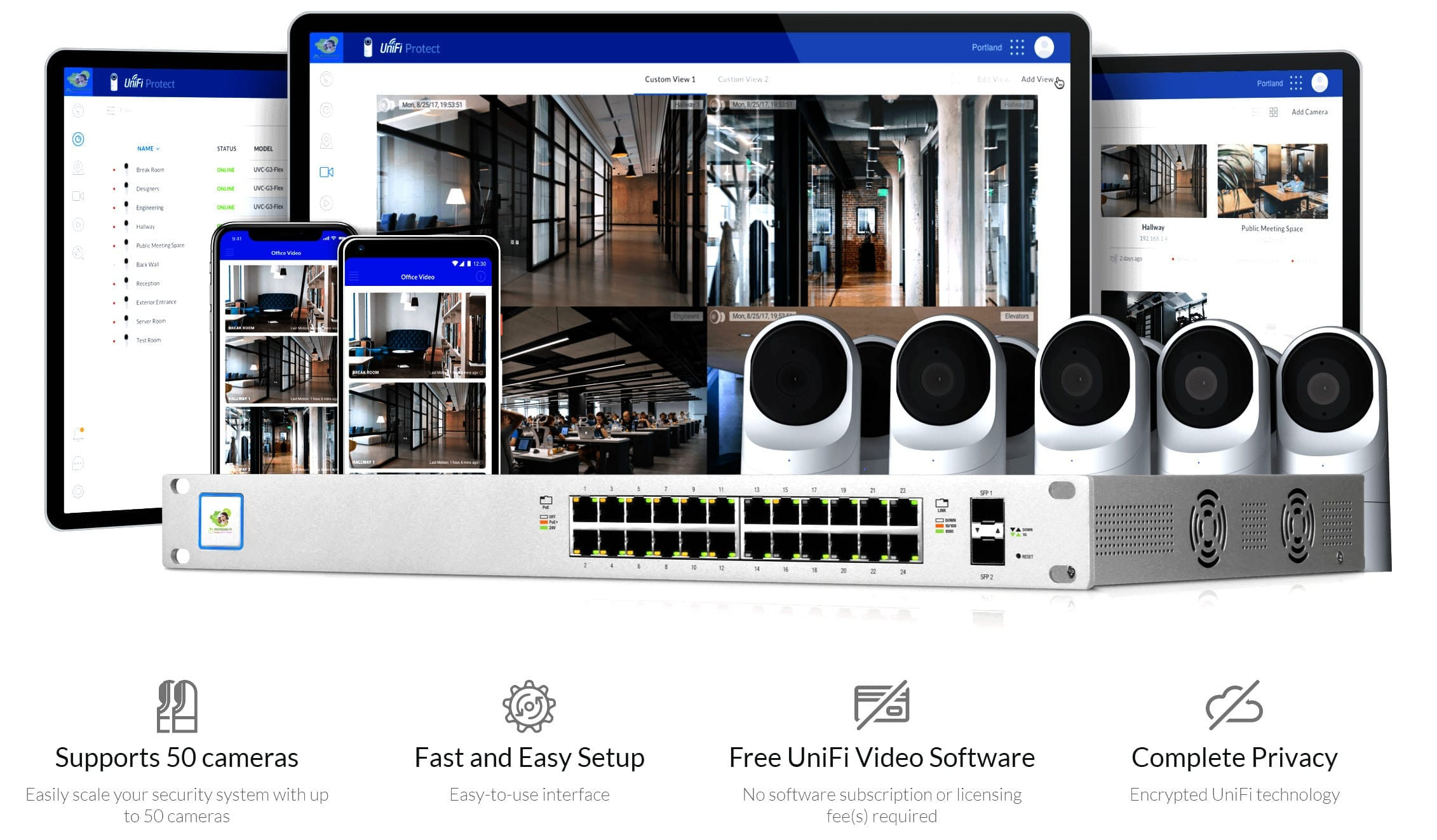 G3 Flex voi Full Surveillance Management and Scalability