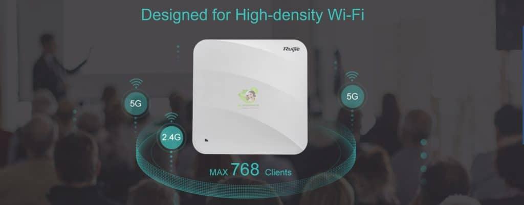 Hệ thống bộ phá sóng Wifi chuyên dụng Ruijie RG-AP730-L
