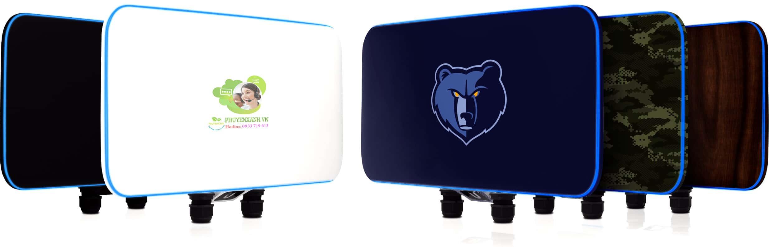 UniFi WiFi BaseStation XG thiet ke Cong nghiep