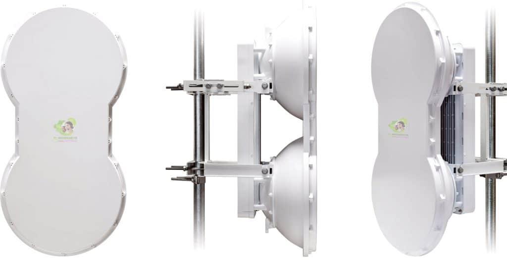 airFiber 5 được thiết kế thông minh