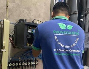 Kỹ thuật phú yên xanh triển khải wifi chuyên dụng tổng thể