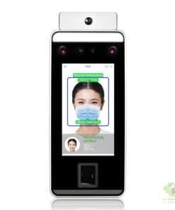 Máy chấm Công nhận diện khuôn mặt và đo thân nhiệt