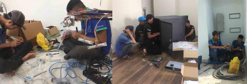 Đội ngũ thi công Hệ thống tổng đài điện thoại thông minh chuyên nghiệp