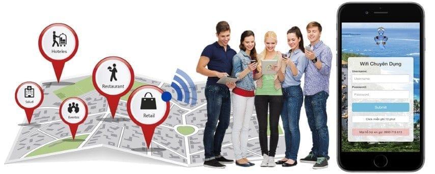 Giải pháp Wifi Marketing cho Khách Sạn